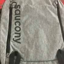 Saucony Gray/black Backpack Sau80021-Bkh O/h Photo