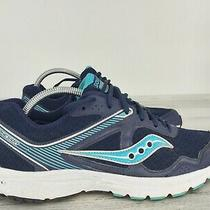 Saucony Grid Cohesion 10 Running Sneakers Shoes Blue S15333-18 Womens Size 10.5 Photo