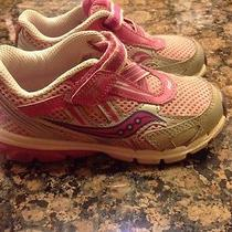 Saucony Grid Girls Toddler Shoes Sneakers Pink 9.5 Photo