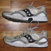Saucony Grid Shadow 2006 White Running Tennis Shoes Men's Size 13 48 Photo