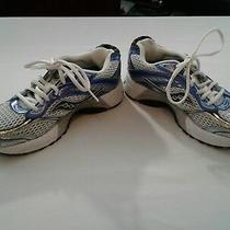 Saucony Guide Women Blue and White Athletic Sneaker Shoes Size Us 7 Photo