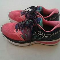 Saucony Iso Series Fit Ladies Blue and Pink Running Fitness Sneaker Size 7 Photo