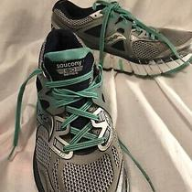 Saucony Iso Series Pwr Grid Athletic Shoes Size 9 M Euc - Free Mask Photo