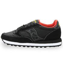 Saucony Jazz Original Mens 2044-251 Black Red Running Shoes Sneakers Size 10 Photo