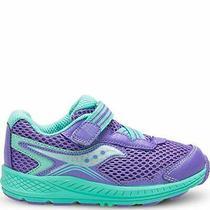 Saucony Kids' Ride 10 Jr Sneaker Purple/turquoise Size 4.5 N3mk Photo