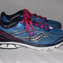 Saucony Kinvara 2 Blue Womens Running Training Shoes Us Sz 9 Photo