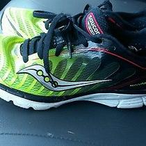 Saucony Kinvara 3 Womens Sz 8 Running Shoes Black Green Red  Photo