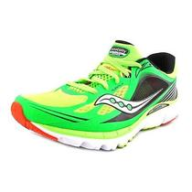 Saucony Kinvara 5 Mens Size 11.5 Green Mesh Sneakers Shoes Used Photo
