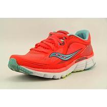 Saucony Kinvara 5 Womens Size 7 Orange Mesh Running Shoes Used Photo