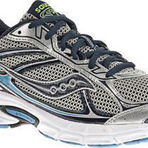 Saucony Men's Cohesion 7 Running Shoesilver/navy/royal9 M Us Photo