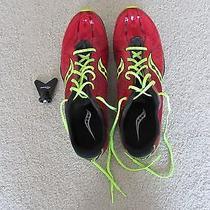 Saucony Men's Size 9.5 Indoor Track Flats / Running Sneakers Photo