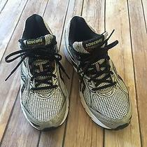 Saucony Mens' 25181-15 Grid Cohesion 7 Silver Black Red Athletic Shoes 8.5 66w Photo