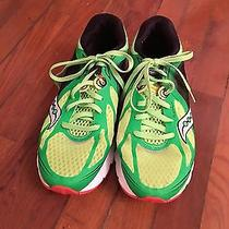 Saucony Mens Green Athletic Sneakers (Size 10) Photo