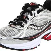 Saucony Mens Grid Ignition 3 Running Shoes 8 M Us New Nib Men's Silver Red Black Photo