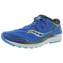 Saucony Mens Guide Iso 2 Blue Running Shoes Sneakers 10 Medium (D) Bhfo 2576 Photo