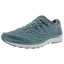 Saucony Mens Guide Iso 2 Gray Running Shoes Sneakers 10 Medium (D) Bhfo 4427 Photo