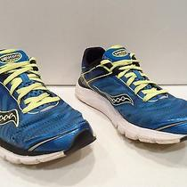 Saucony Progrid Kinvara 3 Men's Running Shoes Size 10 Blue Neon Athletic 20157-4 Photo