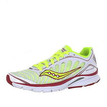 Saucony Progrid Kinvara 3 White/citron/pink Womens Running Size 9.5 M Photo