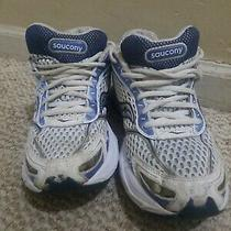 Saucony Ride 2 Women Us 9m Running Shoes White Blue Photo