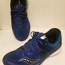 Saucony S20346-1 Triumph Iso 3 Blue Men's Running Shoes Size 12.5 Us Eur 46.5 Photo