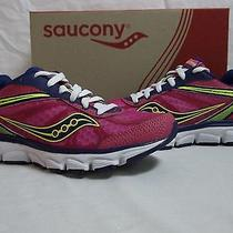 Saucony Size 6 M Mayhem Berry Blue Running Sneakers New Womens Shoes Photo
