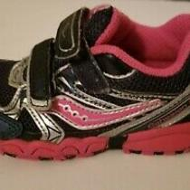 Saucony Toddler Girls Athletic Cohesion 6 Sneakers Shoes Navy Blue Size 7.5mi33 Photo