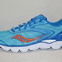Saucony Virrata 2 Womens Running Shoes Size 7.5 New Blue Orange Photo
