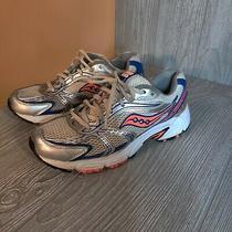 Saucony Women's Oasis Running Shoes 15096-20 Blue Orange Shoes Size 8.5m Photo