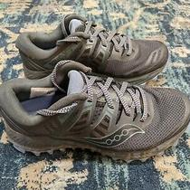 Saucony Women's Peregrine Iso Trail Running Shoes Grey/blue Size 7 Wide Women's Photo