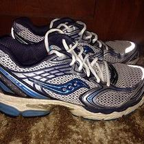 Saucony Womens Progrid Guide 3 Size 9.5m Running Shoes Silver/blue and Black Photo