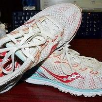 Saucony Women's Racing Flats Running Shoes Grid Type A4 Hydrator Size 8.5m Photo