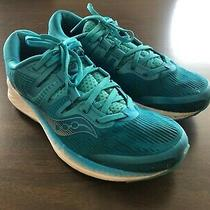 Saucony Women's Ride Iso Running Shoe Size 9.5 Us Teal Photo