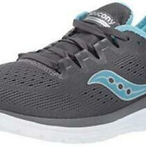 Saucony Women's S30034-1 Running Shoe Charcoal/light Blue Size 5.5 Nmep Photo