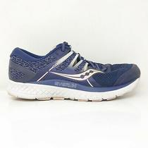 Saucony Womens Omni Iso S10442-2 Blue Blush Running Shoes Lace Up Low Top Size 7 Photo