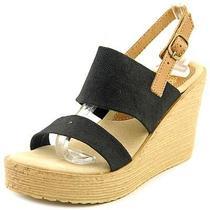 Sbicca Camilla Women Us 6 Black Wedge Sandal Photo