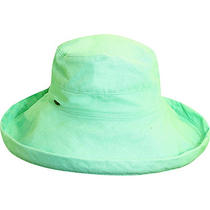 Scala Hats Cotton Big Brim W/ Drawstring 32 Colors Photo