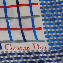 Scarf-Square Christian Dior Made in France Photo