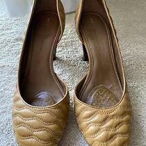 Schuler & Sons Tan Leather Heels From Anthropologie Size 9 Photo