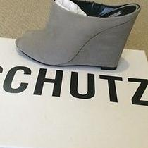 Schutz Carmins Nobuck Suede  Leather Wedge Mule  Nib Size 7m 200 Photo