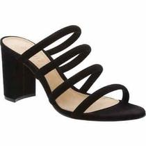Schutz Felisa Block Heel Sandal Black Size 8.5 Msrp 170 Photo