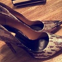Schutz Gilberta Metallic Heels  Photo
