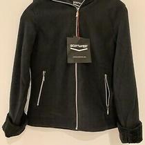 Scottevest Black Chloe Glow - Womens Hoodies - Sweatshirts Fleece Size Small Photo