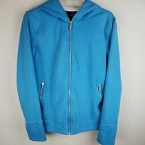Scottevest Chloe Hoodie Jacket Full Zip Blue Tec Women's Size Large Photo