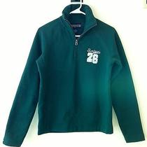 Scripps College Quarter-Zip Fleece Green Size Small S Euc Photo