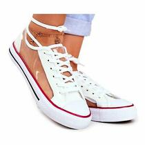 Sea Women's Sneakers White Transparent Grace Elements Photo