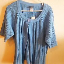 Sears Classic Elements Women's Light Blue Swing Sweater-Size 20/22-Nwt Photo