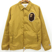 Second Hand a Bathing Ape Champion Abying Boa Coach Jacket Size S Color Yellow Photo