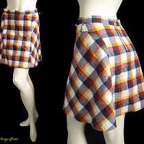 See by Chloe 350 Retro Plaid Wool Skirt  Photo