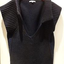 See by Chloe Authentic  Wool Black/navy v-Neck  Sweater 12 Photo