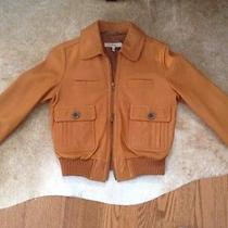 See by Chloe Leather Bomber Jacket Photo